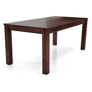 Arabia XL 6 Seater Dining Table (Mahogany Finish) by Urban Ladder