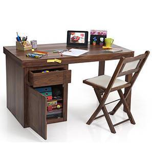 Bradbury - Axis Study Sets (Teak Finish) by Urban Ladder