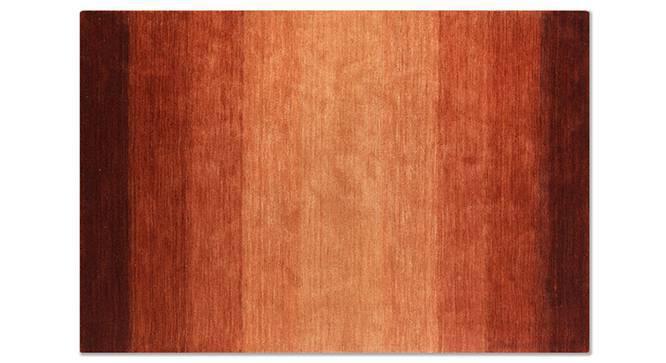 "Aurora Hand Loom Carpet (48"" x 72"" Carpet Size, Paprika Red) by Urban Ladder"
