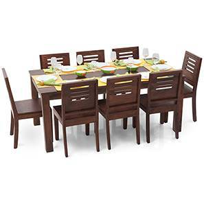 Arabia XL - Capra 8 Seater Dining  Set (Teak Finish)