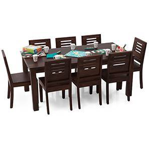 Arabia XL - Capra 8 Seater Dining  Set (Mahogany Finish)
