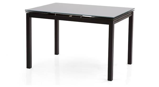 Lucerne 4 to 6 Extendable Glass Top Dining Table Urban  : LucerneExtendableDiningTableBlack09Tabl02 from www.urbanladder.com size 666 x 363 jpeg 10kB