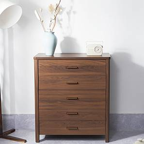 Norland Chest of Drawers (Walnut Finish)