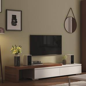 "Bayern 75"" TV Unit (Walnut Finish) by Urban Ladder"