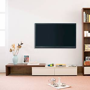 "Bayern 75"" TV Unit (Walnut Finish)"