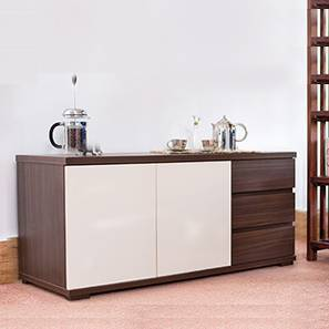 Bayern Sideboard (Dark Walnut Finish) by Urban Ladder