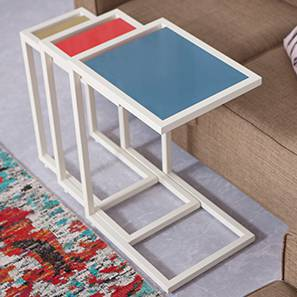 Pixl Nested Tables - Set of 3 by Urban Ladder
