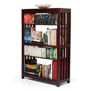 Alexandria book shelf mahogany finish 00 img 0056 square