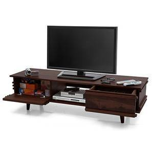 "Parker 57"" TV Unit (Mahogany Finish)"
