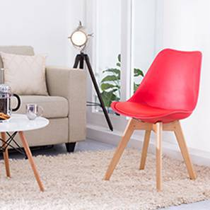 Pashe Chair (Red) by Urban Ladder
