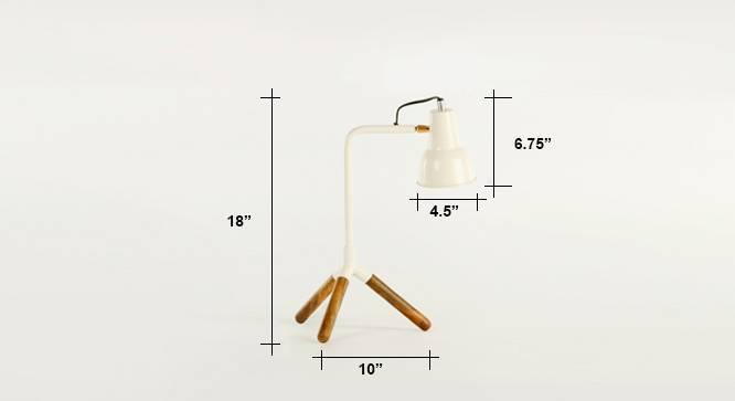 Crane study lamp  white 06 7