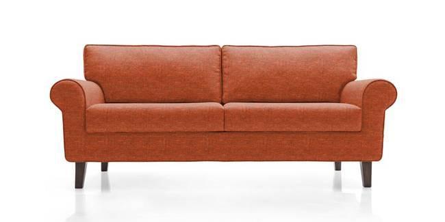 Oxford Sofa (Lava Rust) (Lava, Fabric Sofa Material, Regular Sofa Size, Regular Sofa Type)