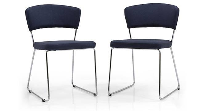 Simmons Dining Chairs - Set of 2 (Blue) by Urban Ladder