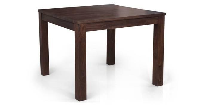 Arabia Square-Oribi 4 Seater Dining Table Set (Mahogany Finish) by Urban Ladder