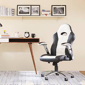 Mika Study Chair (White)