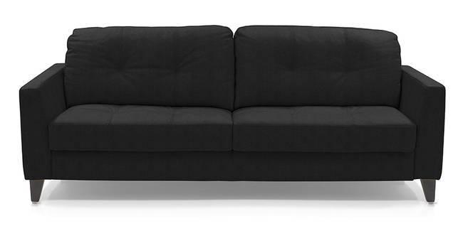 Franco Sofa (Licorice Italian Leather) (Licorice, Regular Sofa Size, Regular Sofa Type, Leather Sofa Material)