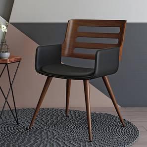 Yuten Lounge Chair (Walnut Finish)
