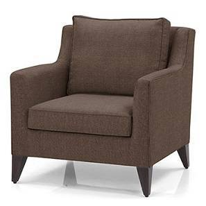 Greenwich Armchair (Mocha) by Urban Ladder