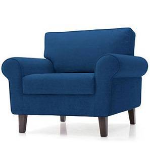 Oxford Armchair (Cobalt) by Urban Ladder