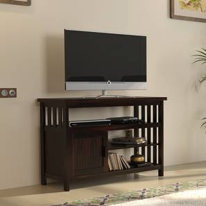 "Rhodes High 45"" TV Unit (Mahogany Finish) by Urban Ladder"