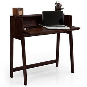 Rowling Compact Desk (Mahogany Finish)
