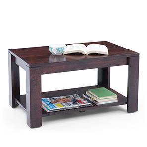 Flair Coffee Table (Mahogany Finish) by Urban Ladder