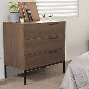 Heston Chest Of Drawers (Walnut Finish)