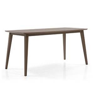 Eastwood 6 Seater Dining Table (Walnut Finish)