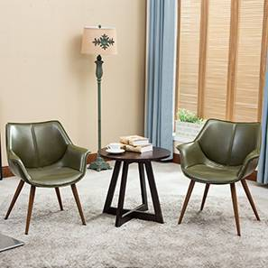 Keaton Lounge Chair - Set of 2 (Olive Green)