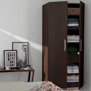 Domenico XL Wardrobe (Two Door, Without Mirror Configuration)