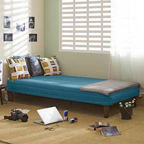 Mou Bed With Mattress (Teal)