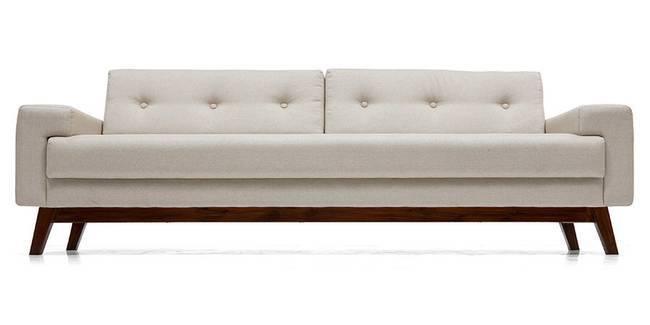 Venetti Sofa (Pearl White) (Pearl, Fabric Sofa Material, Regular Sofa Size, Regular Sofa Type)