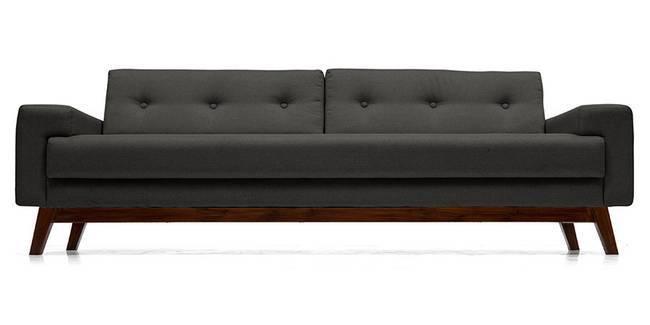 Venetti Sofa (Steel) (Steel, Fabric Sofa Material, Regular Sofa Size, Regular Sofa Type)