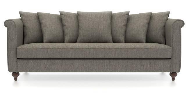 Marlene Sofa (Mist Brown) (Mist, Fabric Sofa Material, Regular Sofa Size, Regular Sofa Type)