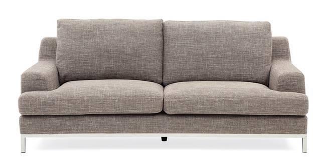 Presley Sofa (Boucle Brown) (Fabric Sofa Material, Regular Sofa Size, Regular Sofa Type, Boucle Brown)