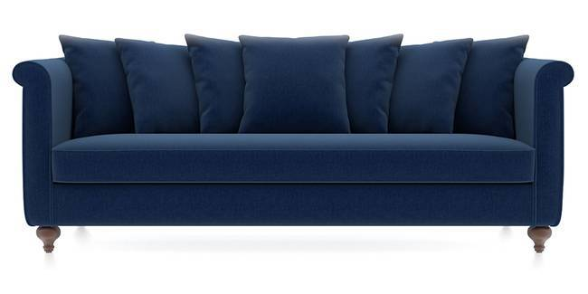 Marlene Sofa (Cobalt Blue) (Cobalt, Fabric Sofa Material, Regular Sofa Size, Regular Sofa Type)
