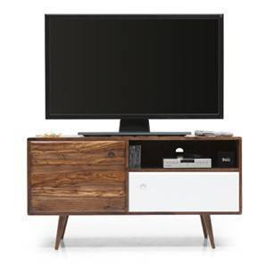 Roswell TV Unit (Teak Finish) by Urban Ladder