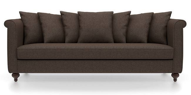 Marlene Sofa (Mocha Brown) (Mocha, Fabric Sofa Material, Regular Sofa Size, Regular Sofa Type)