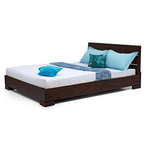 Ohio Bed (Mahogany Finish, Queen Bed Size)