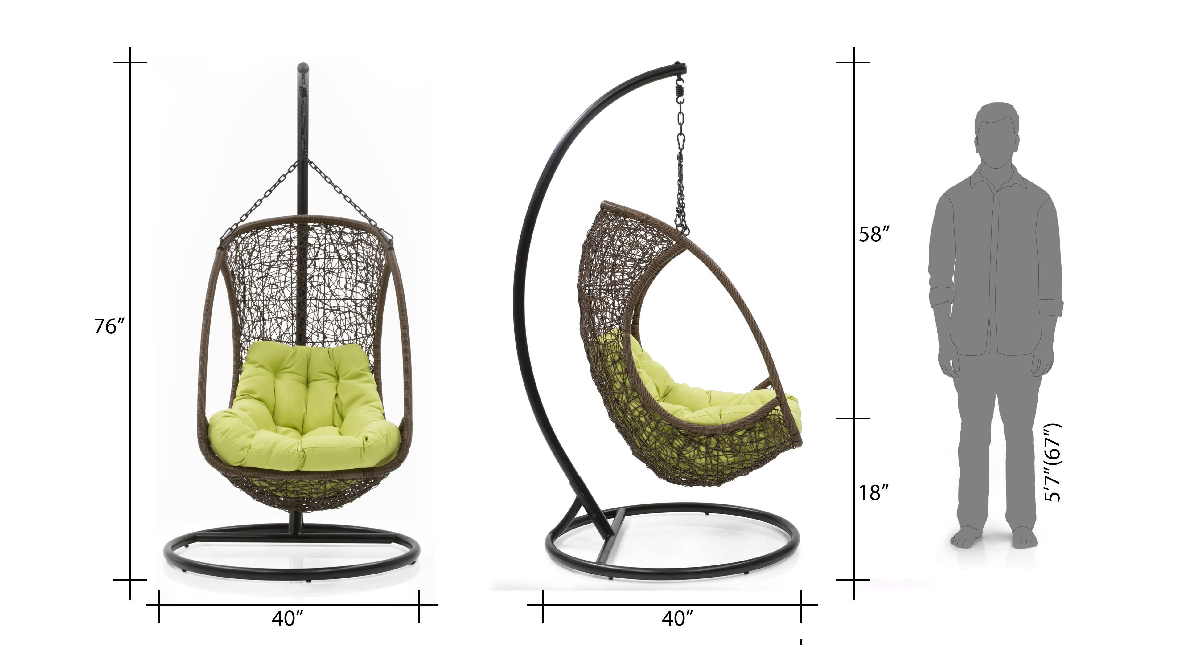 Merveilleux Calabah Swing Chair 06