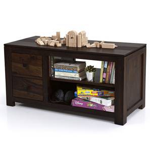 Striado TV Unit (Mahogany Finish)