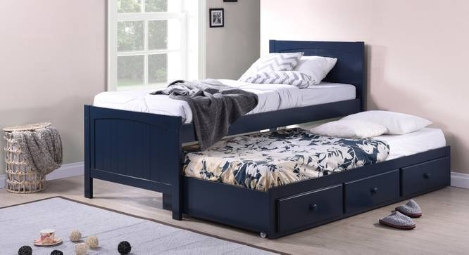Merveilleux Bering Single Bed With Trundle And Storage
