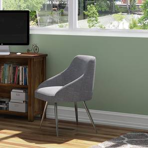 Pelli Study Chair (Grey) by Urban Ladder