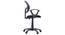 Wodehouse  - Eisner Study Set (Walnut Finish, Black) by Urban Ladder