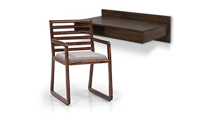Wodehouse  - Hawley Study Set (Walnut Finish) by Urban Ladder