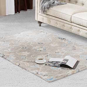 "Sardis Hand Tufted Carpet (60'' x 93"" Carpet Size, Fossil Grey)"