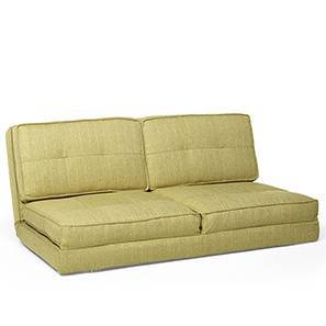 Desso Futon Sofa Cum Bed (Green, Two Seater Configuration) by Urban Ladder