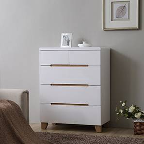 Oslo Chest of Drawers (White Finish)