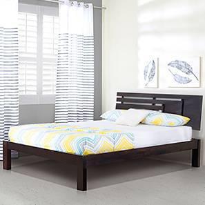 Stockholm Bed (Mahogany Finish, King Bed Size)