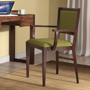 Aurelio study chair mahogany oive 00 lp & Aurelio Study Chair - Urban Ladder